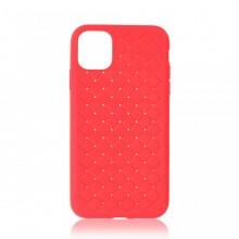 Husa iPhone 11 Pro Max Rosie Flexibila din Silicon