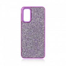 Husa pentru Samsung Galaxy S20 PLUS - Husa Luxury Glitter Diamond Mov