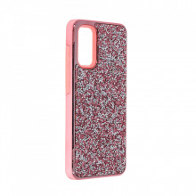 Husa pentru Samsung Galaxy S20 PLUS - Husa Luxury Glitter Diamond Roz