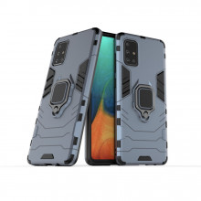 Husa Samsung Galaxy S20 PLUS Bleumarin Military cu Inel