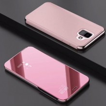 Husa Samsung Galaxy S9 Flip Book Cover Clear View Rose