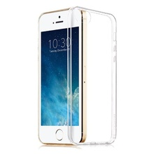 iPhone 5 si 5S SE - Husa Silicon Transparenta Ultra Thin