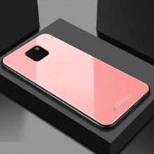 Husa Huawei Mate 20 PRO Glass Case Roz