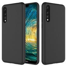 Husa Huawei P20 PRO Neagra Din Silicon Premium Soft