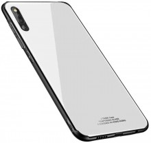 Husa Huawei P30 Glass Case Alba