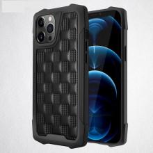Husa pentru Apple iPhone 12Pro, cu protectie ridicata, Fashion, rezistenta la socuri, negru