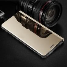Samsung Galaxy J5 (2017) - Husa Gold Book Cover Clear View
