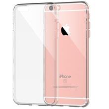 Husa iPhone 6 si 6S Silicon Transparenta Ultra Thin