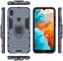 Husa Huawei Y6 | Y6 PRO (2019) Bleumarin Military cu Inel