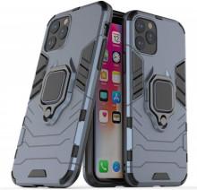 Husa iPhone 11 PRO Bleumarin Military cu Inel