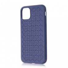 Husa iPhone 11 Pro Max Albastra Flexibila din Silicon