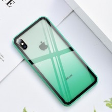 Husa iPhone X sau XS Verde Gradient Antisoc