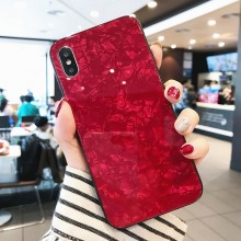 Husa iPhone XS Max High Pro Glass Shield Red
