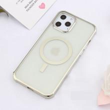 Husa Magsafe pentru Apple iPhone 12, cu protectie la camera, Transparenta IP12-002