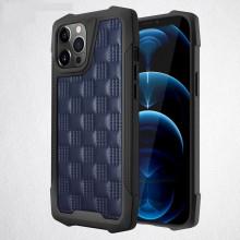 Husa pentru Apple iPhone 12Pro, cu protectie ridicata, Fashion, rezistenta la socuri, albastru