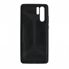Husa Huawei, spate, negru, P30PRO-M6-V1