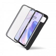 Husa iPhone 11 PRO - 360 Fully cu Spate din Policarbonat si Folie din Silicon - Black