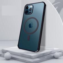 Husa Magsafe pentru Apple iPhone 12 PRO MAX, cu protectie la camera, Transparenta IP12PROMAX-001