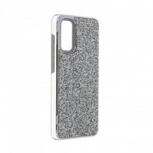 Husa pentru Samsung Galaxy S20 - Husa Luxury Glitter Diamond Silver