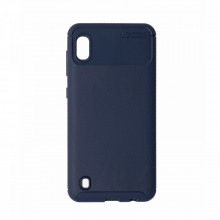 Husa Samsung Galaxy A10 flexibila din silicon, albastru A10-M1-V2