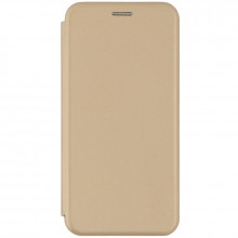 Husa Samsung Galaxy A21s - Flip Magnet Book Type - Gold
