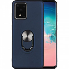 Husa Samsung Galaxy S20 ULTRA Bleumarin Din Policarbonat Premium cu Inel Rotativ