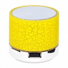 Mini Boxa portabila Bluetooth - Colorful Galbena