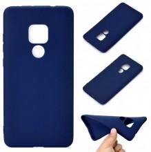 Husa Huawei Mate 20 Albastra din Silicon Premium Ultra Soft