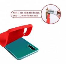 Husa Huawei Mate P30 Rosie din Silicon Premium Ultra Soft