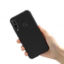 Husa Huawei P40 LITE E | Y7p - Soft Jelly Silicon - Negru