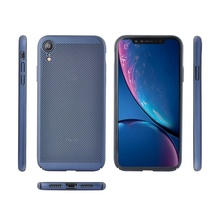 Husa iPhone XR Cu Aerisire Air Spots Blue