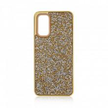 Husa pentru Samsung Galaxy S20 PLUS - Husa Luxury Glitter Diamond Gold