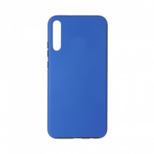 Husa Samsung Galaxy A10 - 360 Fully cu Spate din Policarbonat si Folie din Silicon - Blue