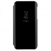 Husa Samsung Galaxy S10 Book Cover Clear View Stand Black