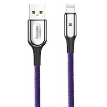 Husa Apple Ligtning Cablu De Date Si Incarcare Baseus Mov 1m