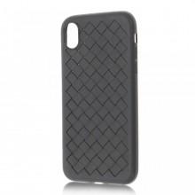 Husa iPhone XS Max Neagra Flexibila din Silicon