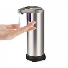 Dozator de sapun, cu senzor, touch free, argintiu crom, DISP-AG