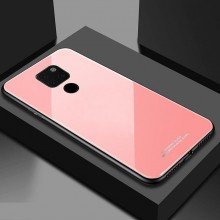 Husa Huawei Mate 20 Glass Case Roz