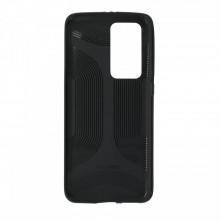 Husa Huawei, spate, negru, P40PRO-M6-V1