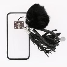 Husa iPhone 5 sau 5S SE Transparenta Cu Margini Negre