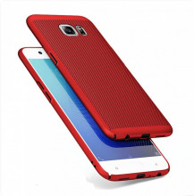 Husa Samsung Galaxy A6 (2018) Air Spots Red