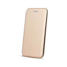 Husa Samsung Galaxy J6 PLUS Flip Magnet Book Type Gold