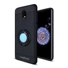 Husa Samsung Galaxy J7 (2017) MagPhone Ultra Safe Black Cu Inel
