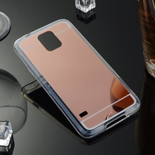 Husa Samsung Galaxy S5 Silicon Mirror Rose