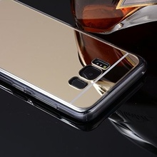Husa Samsung Galaxy S8 Silicon Mirror Gold