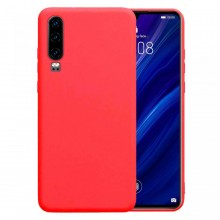 Husa Huawei Mate P30 Rosie din Silicon Premium Ultra Soft
