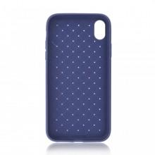 Husa iPhone X sau XS Albastra Flexibila din Silicon