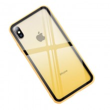 Husa iPhone XR Galbena Gradient Antisoc