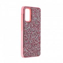 Husa pentru Samsung Galaxy S20 - Husa Luxury Glitter Diamond Roz