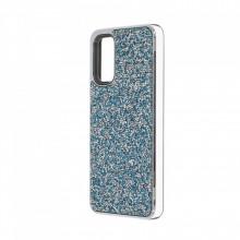 Husa pentru Samsung Galaxy S20 - Husa Luxury Glitter Diamond Turcoaz